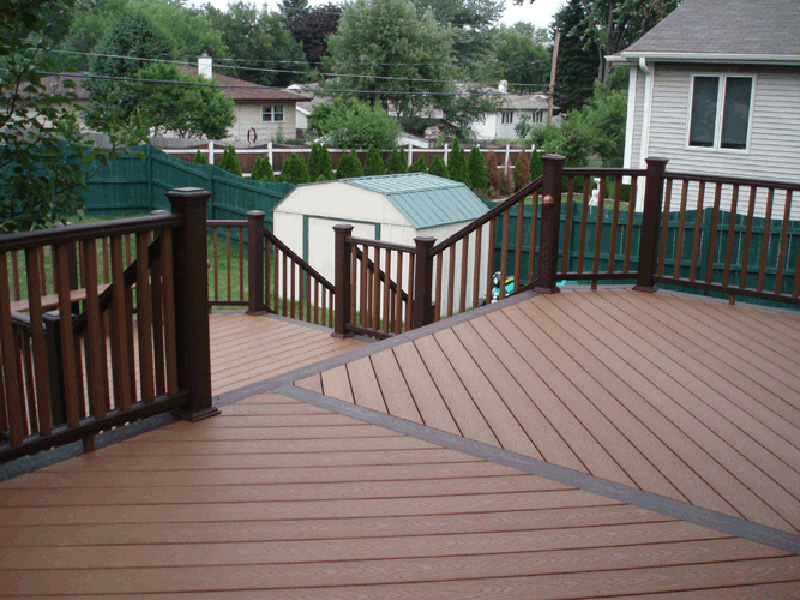 Residential thunder wash for Compsite decking