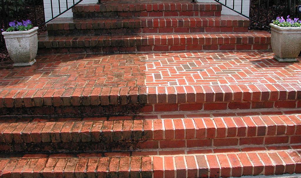 Masonry Cleaning - Brick, Concrete, Stone - Thunder Wash